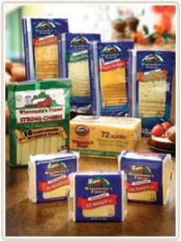 Wisconsins Finest slice Cheese