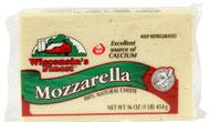 16oz Mozzarella Chunk