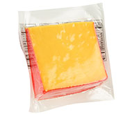 12oz Red Wax Mild Cheddar Wedge