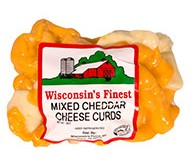 12 oz. Mixed Cheddar Cheese Curd